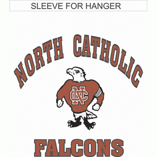 North Catholic Falcons Garden flag