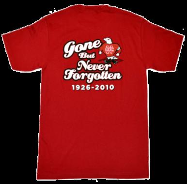 North catholic Falcons Gone but not forgotten t-shirt