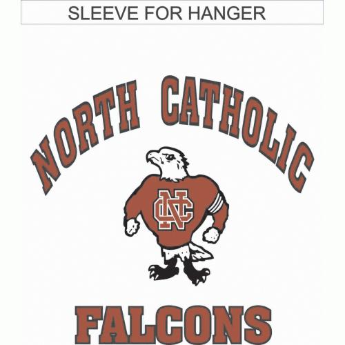 North Catholic Falcons Garden flag