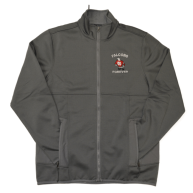 North catholic Falcons Forever grey track jacket