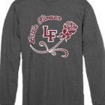 Little Flower Rose Long Sleeve T-Shirt