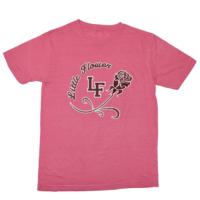 LF Flower Rose Pink T-Shirt