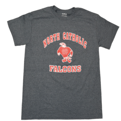 North Catholic Falcons Charcoal t-shirt