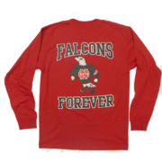 North Catholic Falcons Forever Long red long sleeve