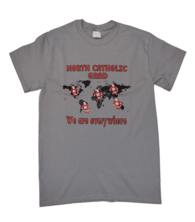 North catholic Falcons Grad T-Shirt