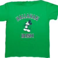 Hallahan Irish Kelly Green Tee