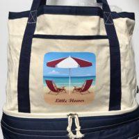 Little Flower Beach bag Cooler