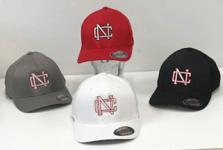 North Catholic Book store NC Falcons Hats
