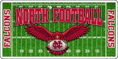 North Catholic Football License Plate