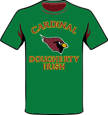 Cardinal Dougherty Irish T-Shirt