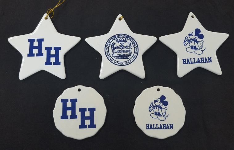Hallahan Ornaments