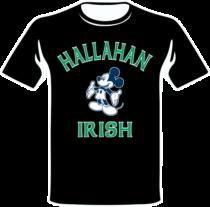 Hallahan Irish Black T