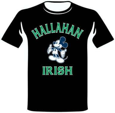 Hallahan Irish Black T
