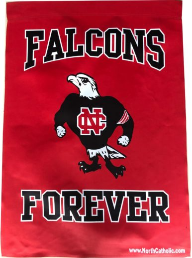 Falcons Forever 2 sided flag