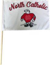 North Catholic Stick Flag